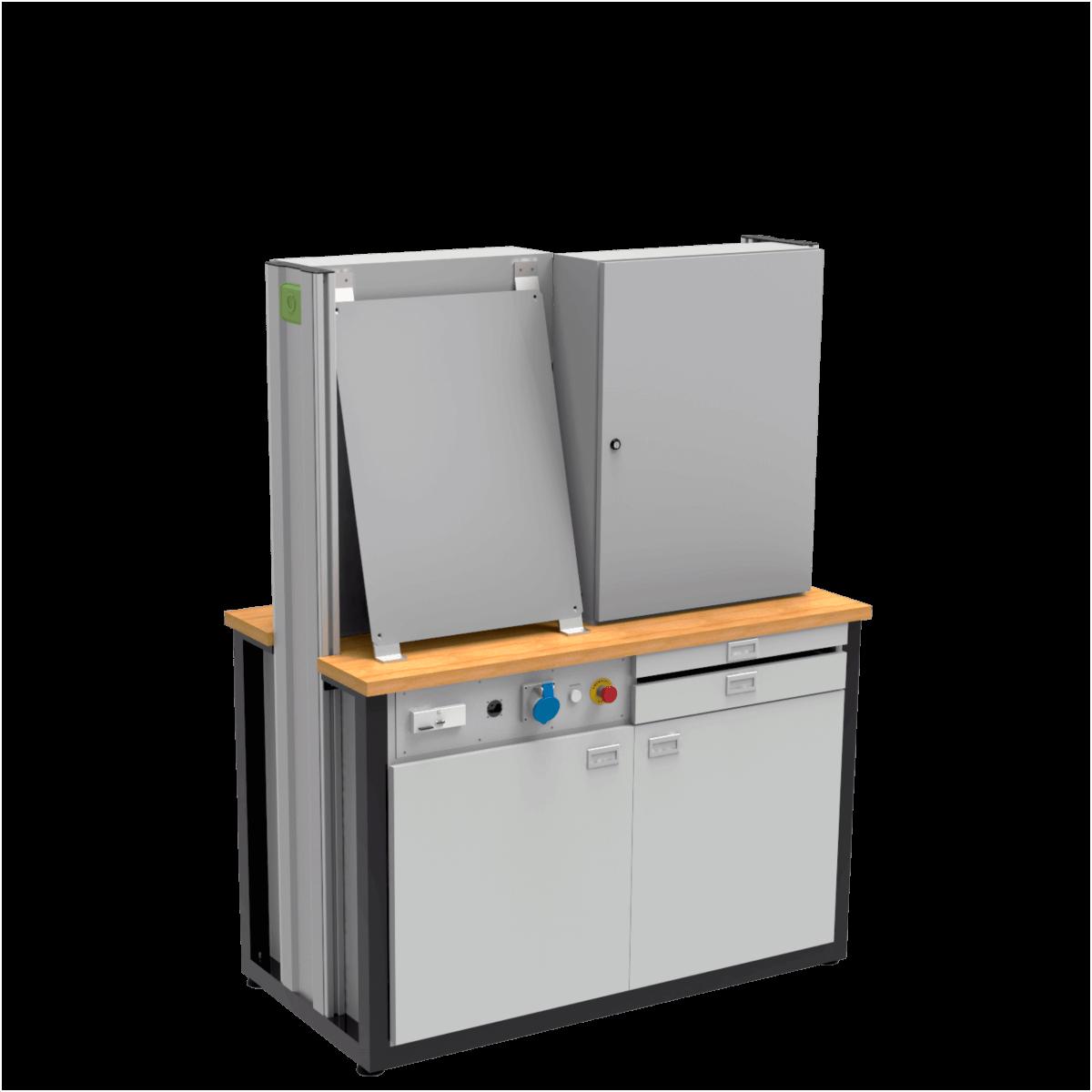 lab-eletricidade-industrial-bancada-didatica-montagem-de-quadro-de-comando-auttom-7